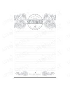 25th Anniversary Young Living Convention Note Pads (50-Sheets)