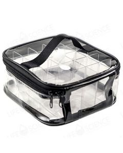 Travel Clear Carrying Case for 5ml and 15ml Bottles (Holds 25)